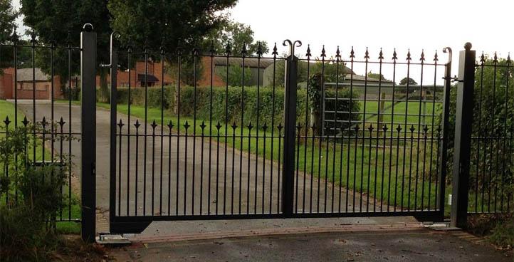 Mallory Wrought Iron Gate