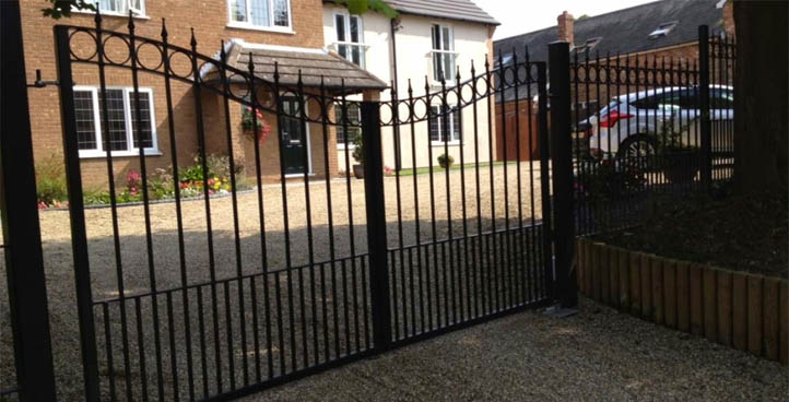 Donnington Wrought Iron Gates