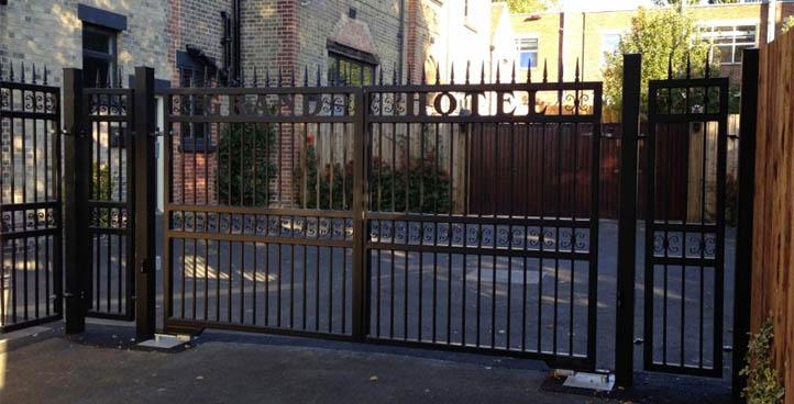 Rockingham Wrought Iron Gates