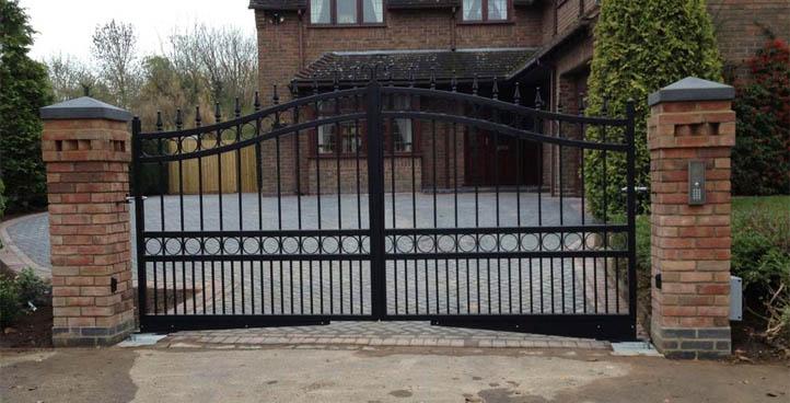 Silverstone Wrought Iron Gates